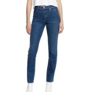 RE/DONE Originals Crawford Straight Leg Jeans 26